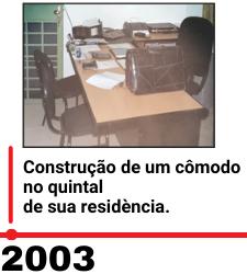 Imagem 2003 linha do tempo fabiano junior