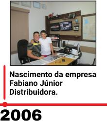 Imagem 2006 linha do tempo fabiano junior